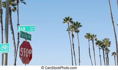 skrzyżowanie dróg, marszruta, tytuł, symbol, lato, ...