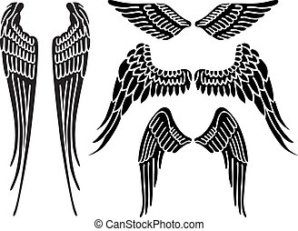 skrzydełka, anioł
