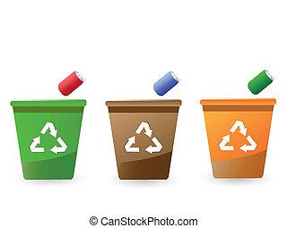 skrzynie, recycling