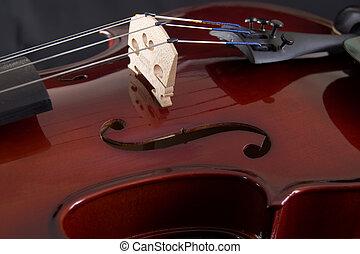 skrzypce, do góry szczelnie