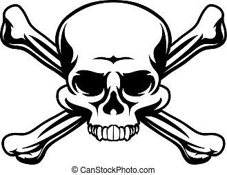 Skull and Crossbones Symbol