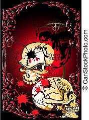 skull and line thai