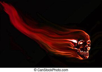 Skull background - Skull background ready for your design...