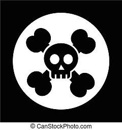 skull bone icon