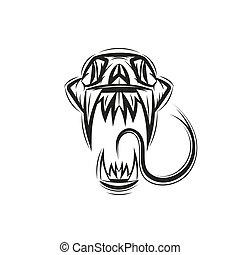 Skull Cobra Vector Snake