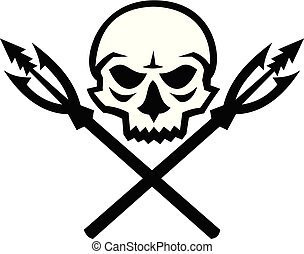 skull-crossed-fishing-spear-fish-hook-icon
