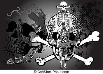 skull-dead-art-style-thai