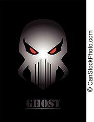 SKULL GHOST.Ghost. Alien. Predator.