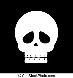 Skull illustration vector