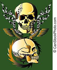 skull line dragon