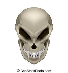 Skull of a mutant