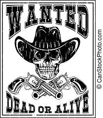 skull revolver wanted dead var 2