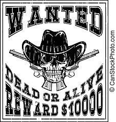 skull revolvers wanted dead var 12