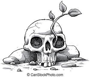 Skull Sapling