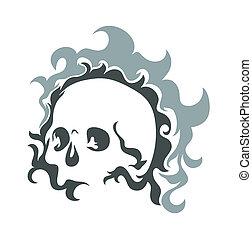 Skull Vector Design