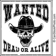skull wanted dead var 6