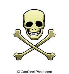 skull with crossbones symbol