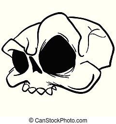 skull5black.eps