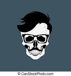 Skulls Grunge Dead