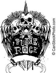 skulls punk rock