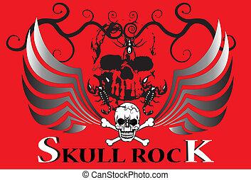 skulls rock