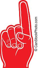 skum, finger