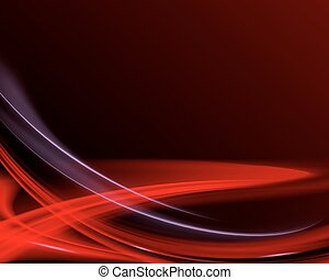 skum fond, med, röd, stripes