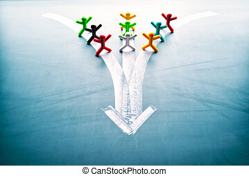 skupina, branka, národ, pojem, stejný, kolektivní práce
