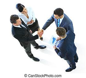 skupina, business národ