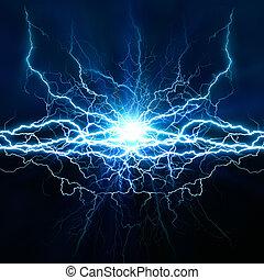 skutek, tła, abstrakcyjny, twój, techno, oświetlenie, projektować, elektryczny