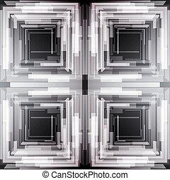 skwer, abstrakcyjny, pattern., seamless, struktura, tło., wektor, pas, monochromia, regularny