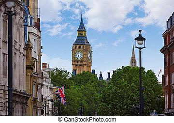 skwer, londyn, uk, trafalgar