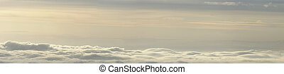 Sky and clouds - Above the Clouds