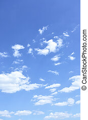 Sky and clouds, may be used as background