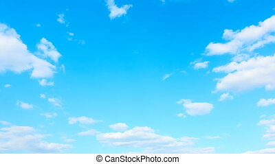 Sky and  clouds - Seamless loop timelapse