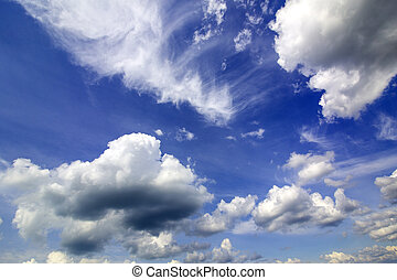 sky and clouds