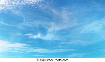 Sky animation. - FullHD 3D dark blue sky animation with...