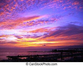 Sky after Hawaiian Sunset