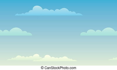 Sky Background Fast