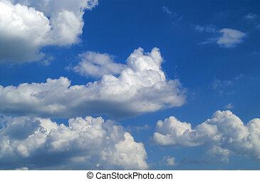 Sky - Blue sky and clouds