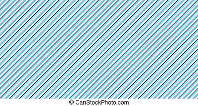 Sky Blue Strong Seamless Inclined Stripes Background. Modern Colors Sidelong Lines Texture. Vintage Style Stripe Backdrop.