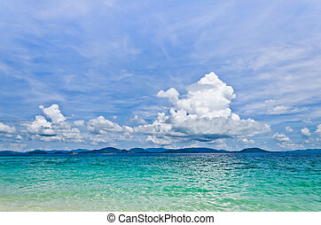 Sky cloud above Phuket Island, Thailand