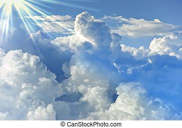 Sky cloud background image