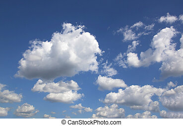Sky Cloud natural outdoor air blank abstract.