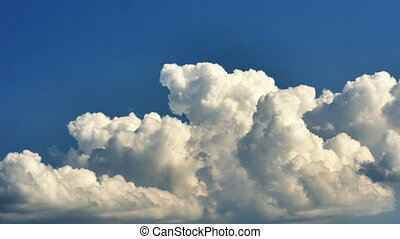 sky clouds time lapse 4k