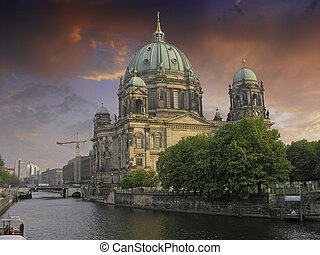 Sky Colors over Berliner Dom