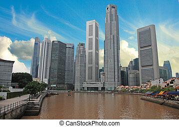 Sky Colors over Singapore