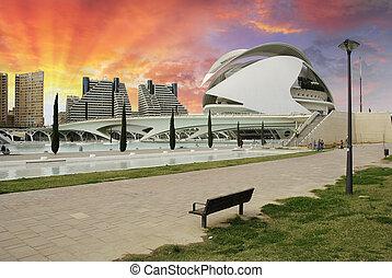 Sky Colors over Valencia
