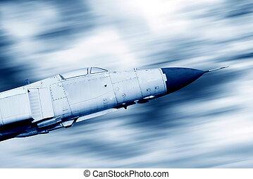 Sky flying fighter