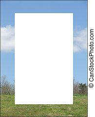 Sky Grass Frame / Border